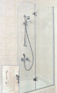 Single and Dual Panel Bath Screens