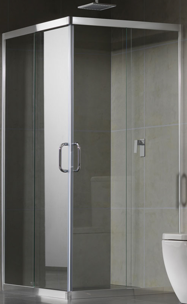 Semi Frameless Sliding Shower Screen